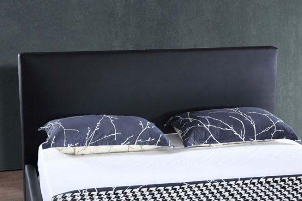 מיטה זוגית דגם אדל שחור