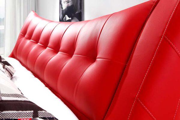מיטה זוגית דגם קומפורט אדום