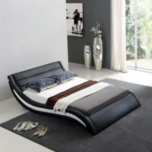 מיטה זוגרית דגם אנרג'י שחור