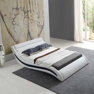מיטה זוגית דגם אנרג'י לבן