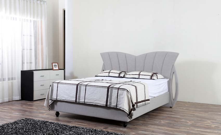 מיטה זוגית דגם קשת