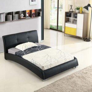 מיטה זוגית דגם נובה שחור