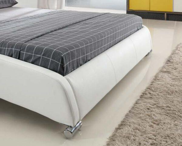 מיטה זוגית דגם נובה לבן