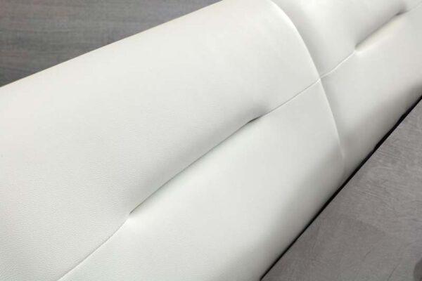 מיטה זוגית דגם פוקט שחור לבן