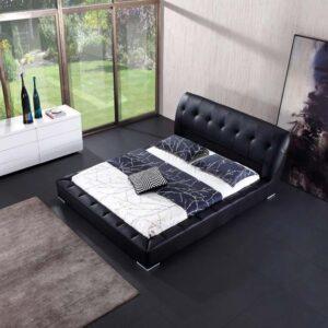 מיטה זוגית דגם רילקס שחור