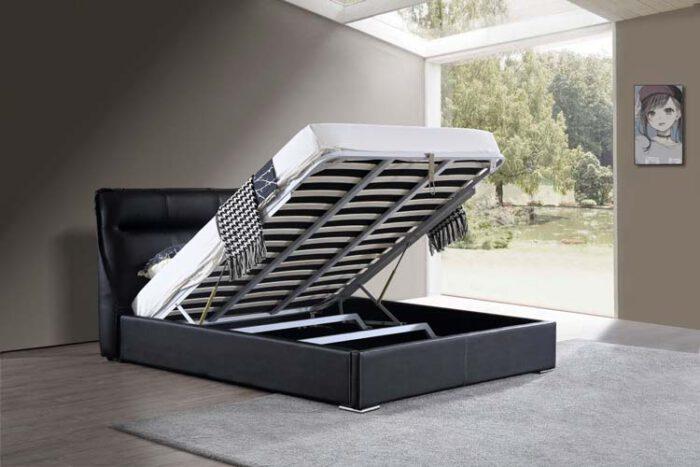 מיטה זוגית דגם סול שחור