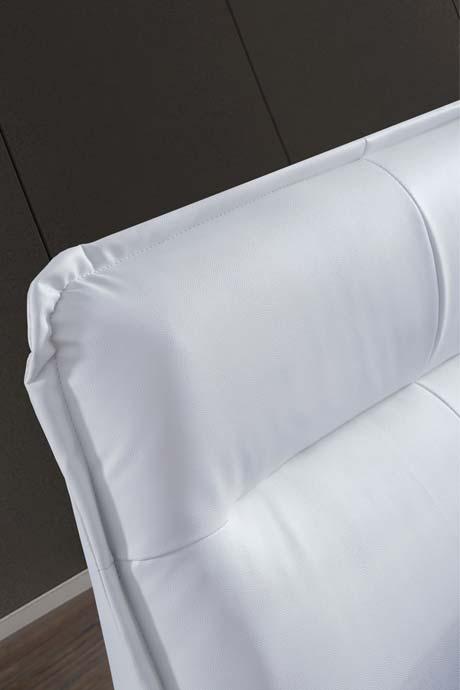 מיטה זוגית דגם סול לבן