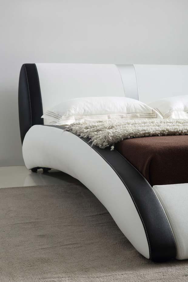 מיטה זוגית דגם ספיריט לבן