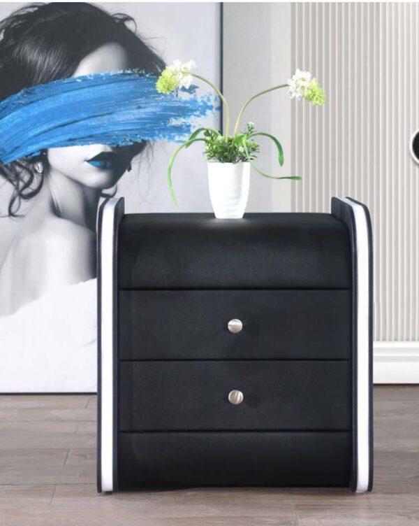 שידה דגם אליס שחור