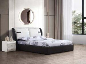 מיטה זוגית דגם דיווה שחור