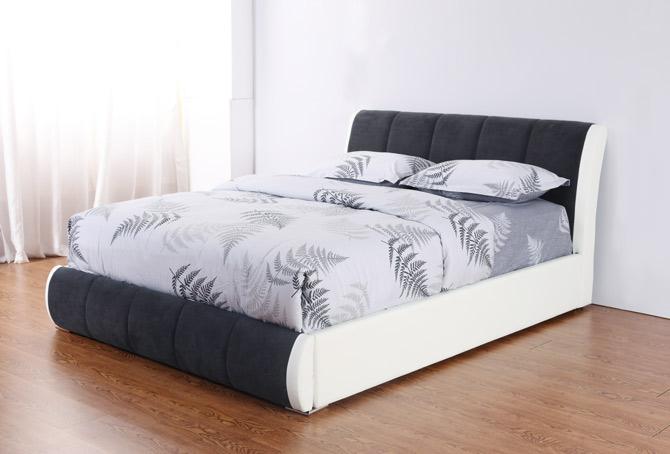 מיטה זוגית דגם נובל שחור